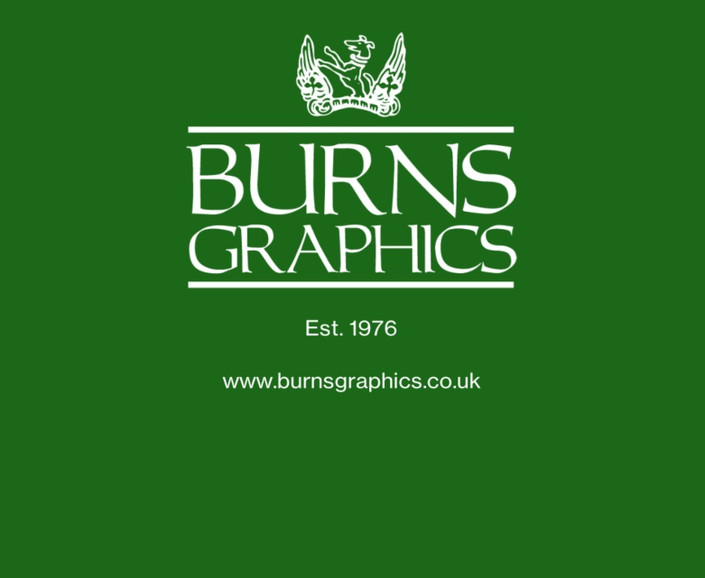 Burnsgraphics Ltd established in 1976, a fully independent design and publishing agency