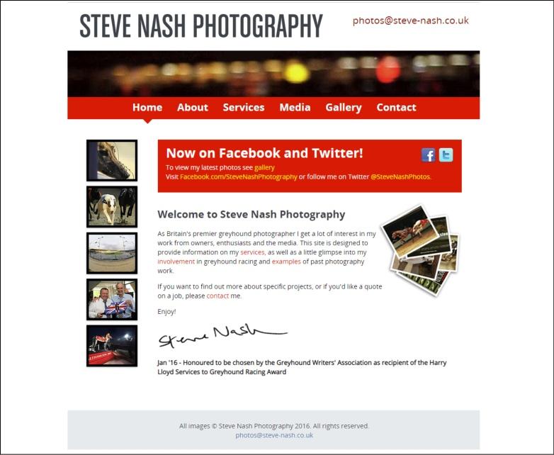 Steve Nash Photography britain's premier greyhound photographer